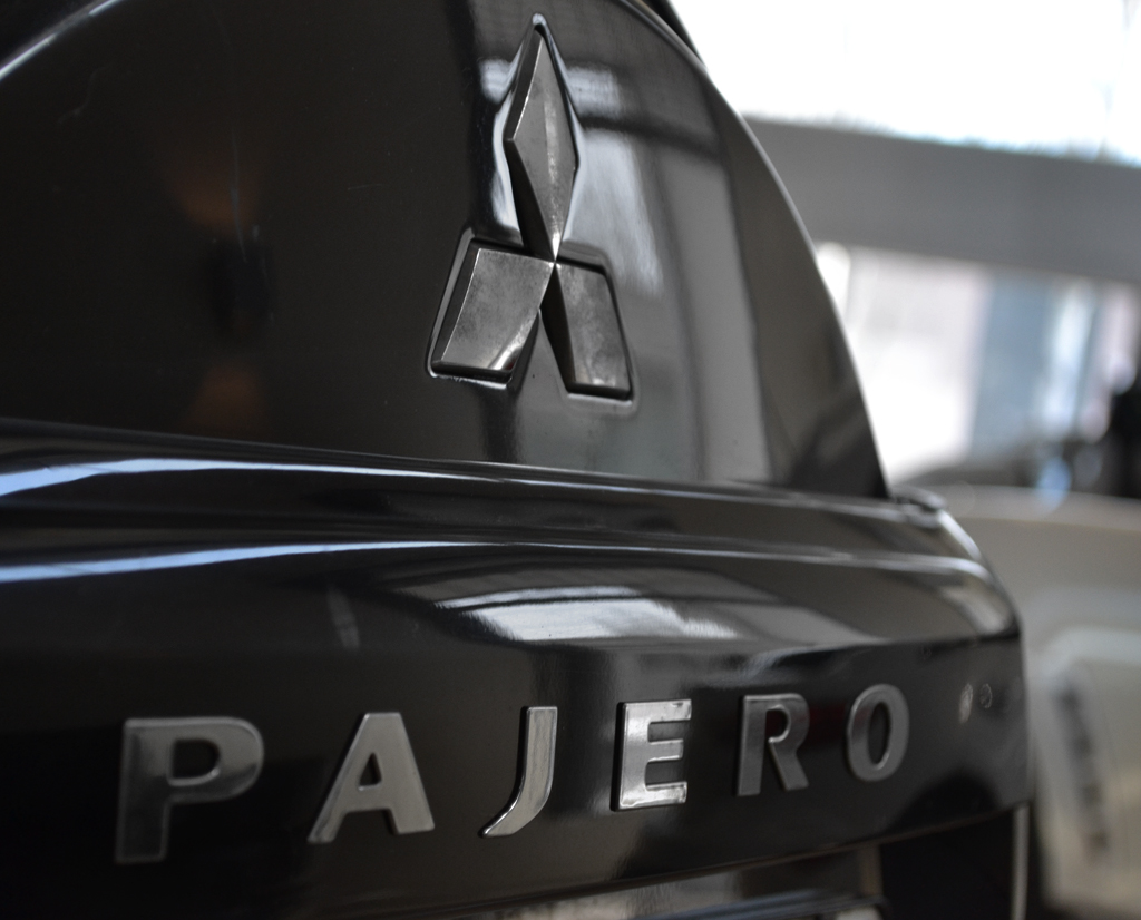 Тюнинг обвес Mitsubishi Pajero 4 Wagon / Митсубиси Паджеро 4 вагон ...   826x1024